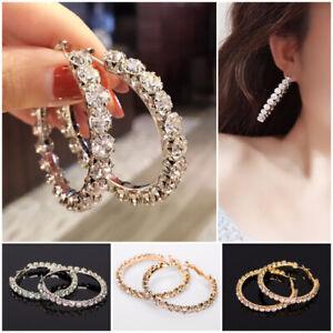 Women Jewelry Gorgeous 925 Silver,Rose Gold,Gold Hoop Earrings for Women Wedding