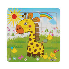 Latest Wooden Giraffe Jigsaw Toys For Kids Education And Learning Puzzles Toys