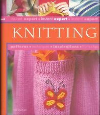 Instant Expert Knitting Badger Stitch Library Gauge Buttonholes Mittens Dog Coat