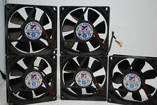 12VDC Brushless Fan 80 x 80 x 25mm 0.23A FD1280-S1012E Pack of 5
