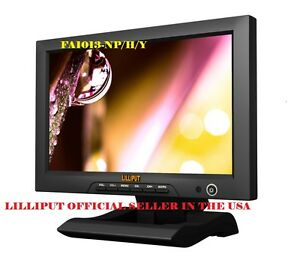 """Lilliput 10.1"""" FA1013-NP/H/Y 16:9 HDMI IN FIELD Monitor W/ YPBPR +VIDEO IN&OUT"""