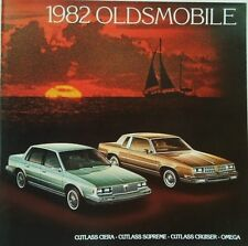 1982 Oldsmobile Cutlass Ciera Cutlass Supreme Cutlass Cruiser Omega Brochure