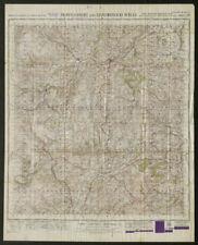 War Office Sheet 128 MONTGOMERY & LLANDRINDOD WELLS. ORDNANCE SURVEY 1949 map