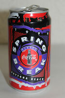 1994 Coca Cola Classic Empty Soda Can Spring Break Daytona Beach 12 oz