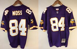 Randy Moss Minnesota Vikings #84 Mitchell & Ness 1998 Rookie Authentic Jersey
