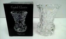 KRISTAL Zajecar small 24% Cristal au plomb Bud Vase Par Rayware-Made-Yougoslavie