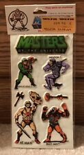 MASTERS OF THE UNIVERSE VINTAGE PUFFY STICKERS MATTEL 1982 SKELTOR  HE-MAN