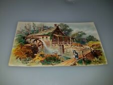 ANTIQUE VICTORIAN TRADE CARD J LYMAN GRISWOLD DEALER DOMESTIC SEWING MACHINES
