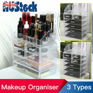 Clear Acrylic Cosmetic Makeup Organiser Lipstick Organizer Jewellery Storage Box