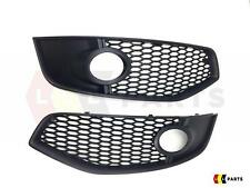 NEW AUDI S3 8P 06-08 GENUINE FRONT BUMPER FOG LIGHT GRILL PAIR LEFT RIGHT