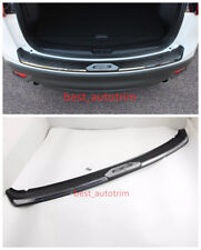 Black ABS Rear Bumper Protector Sill Plate For Mazda CX-5 CX5 2012 - 2016
