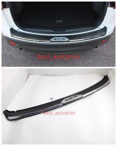 Black ABS Rear Bumper Protector Sill Plate Trim For Mazda CX-5 CX5 2012 - 2016