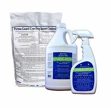 ERADICATOR Bed Bugs & Dust Mites Killer & Diatomaceous Earth Insect Control Lot
