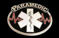 PARAMEDIC EMERGENCY SNAKE MEDICAL MEDICINE DOCTOR BELT BUCKLE