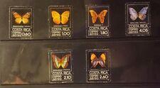 Costa Rica Stamps - #C759-764 - Butterflies - MNH XF - 1979