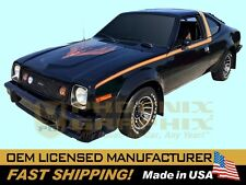 1978 AMC American Motors Concord AMX Decals & Stripes-ONLY Kit (Black Cars)