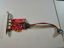 Startech D119-00B PEXUSB3S4 USB 3.0 PCIe Adapter Card