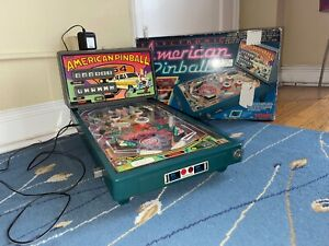 Vintage Tomy Electronic Arcade American Pinball Machine  1991 NOT WORKING FULLY