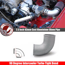 90° 2.5 Inch 63mm  Cast Aluminium Elbow Pipe For Turbo outlet