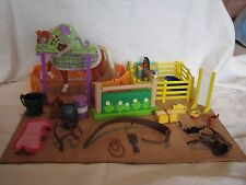 TOY HORSE /STABLE ACCESSORIES-SOME BREYER VARIOUS ,PLUS 2 HORSES