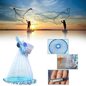 Fishing Net Durable Fish Monofilament Wire Throwing Net J2H9 Tool Fishing N7I3