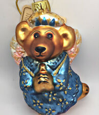 Boyds Bears Glass Ornament Qvc Premiere Edition Celeste Glass Christmas Angel