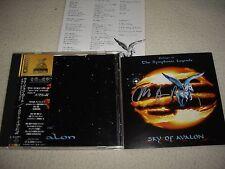 SKY OF AVALON Uli Jon Roth - Prologue to the Symphonic Legends - Signed Japan CD
