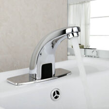 Automatic Electronic Sensor Touchless Faucet Hands Free Bathroom Vessel Sink Tap
