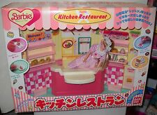 #5894 RARE NIB Mattel Ban Dai Japan Barbie Kitchen Restaurant