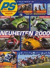 PS9911 + Vergleich MOTO GUZZI V11 Sport vs. V7 Sport + PS 11/1999