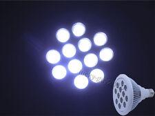 12X1W Cool White Par38 20000K 12W LED Light Lamp Bulb for Aquarium/Showcase
