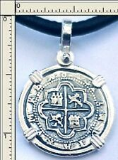 SUNKEN TREASURE KEY WEST MEDALLION PIRATE REALE SILVER COB PIECE OF EIGHT 1622
