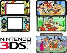 Nintendo 3DS N3DS FLINTSTONES Vinyl Skin Decal Sticker