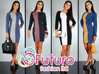 NEW Women's Classic & Elegance Shift Dress Pencil Style Size 8-14 FA30