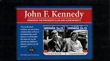 Grenada 2013 MNH John F Kennedy 50th Memorial 2v S/S JFK US Presidents