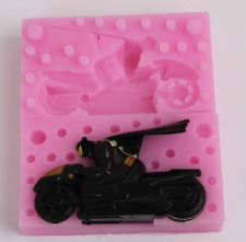Batman Motorcycle Silicone Mold Soap Chocolate Polymer Clay Silicon Mould Diy
