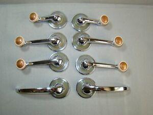 41 42 46 47 48 window handle 2 door handle escutcheon window set (two door set)