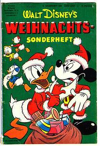 """Disney : Micky Maus Sonderheft 8 : """"Weihnachts Sonderheft (Barks)"""", Heft Ehapa"""