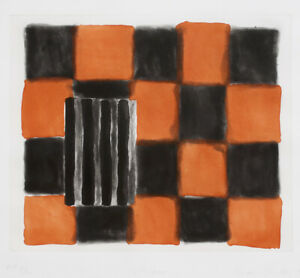 Sean Scully: Tetuan, 1991. Signed, Numbered, Fine Art Print