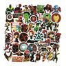 50 Pcs/Lot Stickers  Avengers Super Hero DC For Car Laptop Skatboard Decal
