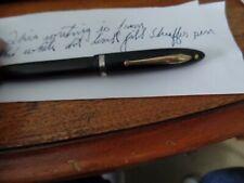Vintage Sheaffer White Dot Lever Fill Pen