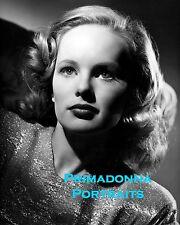 "PEGGY CUMMINGS 8x10 Lab Photo 1947 ""MOSS ROSE"" Film Noir Blonde Beauty"