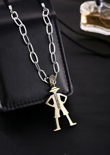 New Anime One Piece Monkey D Luffy Model Pendant Alloy Necklace Gift Cosplay New