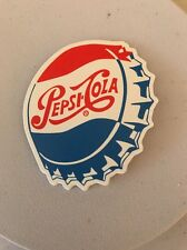 "PEPSI BOTTEL CAP Waterproof DECAL STICKER 3"" X 2-1/2"""