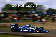 Jacques Laffite Ligier JS25 British Grand Prix 1985 Photograph 1