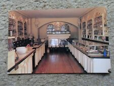 .POSTCARD.APOTHECARY SHOP MUSEUM,ALEXANDRIA.POSTED 2.STAMPS.32c & 20c..