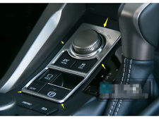 1pcs Stainless Middle Console Button Cover Trim For LEXUS NX200T NX300H 2015