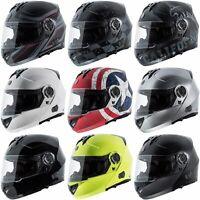 Torc T27B Modular Bluetooth Street Motorcycle DOT Helmet Full Face Dual Visor