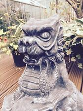 Large Dragon Water Feature Statue Garden Ornament Latex & Fibreglass Mould Item