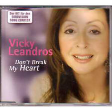 MAXI CD EUROVISION 2006 Allemagne Preselection : Vicky LeandrosDon't break my h